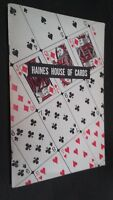 Haines House Of Cards Fox Lake Playing Cards Norwood-Ohio Demuestra Buen Estado
