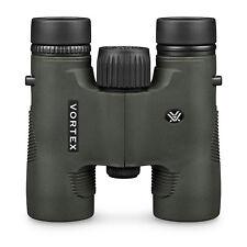 TWO Vortex Diamondback 8x28 HD Binoculars. New HD model with full accessories