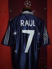 RAUL REAL MADRID CHAMPIONS 1998.1999 MAGLIA SHIRT CALCIO FOOTBALL MAILLOT JERSEY