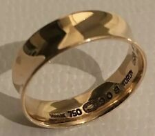 Georg Jensen Rare Vivianna Torun 18ct Yellow Gold Ring 908 Denmark Size P 56
