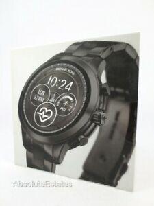 NEW Michael Kors Gen 4 Runway Black Smartwatch MKT5058 Sealed NIB NWT