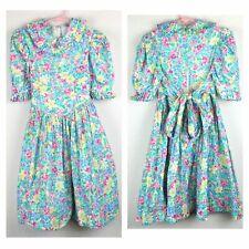 The Children's Hour Floral Vintage Dress sz 7