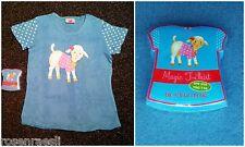 Magie T-shirt à manches courtes AGNEAUX 100% coton taille 104/116 Die