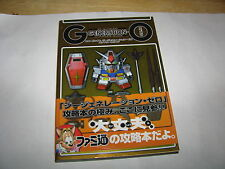SD Gundam G Generation-0 Zero Playstation Complete Guide Book Japan Import