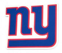 New York Giants XXL Relief 3D Optik Magnet Foam Logo NFL Football