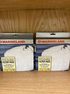 Marineland PA11482 C-360 Canister Filter Polishing Filter Pads, 2 Boxes