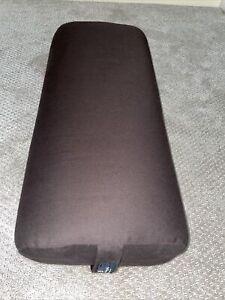 Huggermugger Hugger Mugger Standard Bolster Pillow Yoga Brown EUC