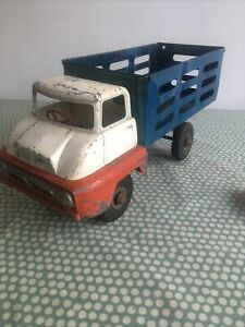 TRIANG Thames Trader Series Large FARM TRUCK / MILK TRUCK Used Repainted Partly