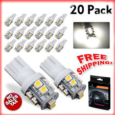 Automotive Light Bulbs Bright 18 LED Interior RV Camper White 10pk Replacement
