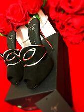 Giuseppe Zanotti High Heels Leder Gr36 schwarz NEU UVP690€