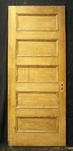 "2 availble 32""x79"" Antique Vintage Old Victorian SOLID Wood Wooden Interior Door"