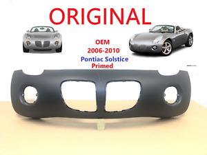 OEM 2006 2007 2008 2009 2010 pontiac solstice front bumper cover primed 89025064