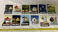 Set of 12 Rovio Angry Birds Stickers 2011 Collector Set