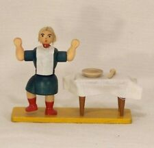 Christian Ulbricht  Struwwelpeter Suppenkaspar Seiffener Wood Figurines Germany