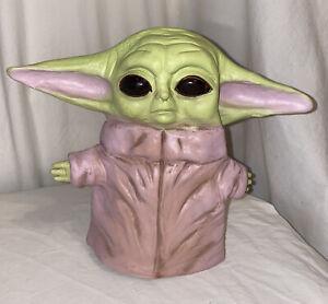 Star Wars The Mandalorian Baby Yoda Hand Puppet Soft Kids Toy Yoda Head