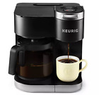 Keurig K-Duo 12-Cup Coffee Maker and Single Serve K-Cup Brewer - Black photo