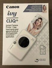 Canon IVY CLIQ+ Instant Camera & Portable Printer + App./color: Pearl White