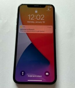 Apple iPhone X - 64GB - Space Gray - T-Mobile Unlocked - A1901 - GSM