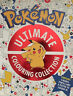 Official Pokemon Ultimate Colouring Book Collection - 4x Books, pencils & poster