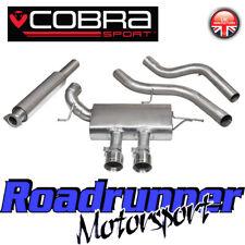 "Cobra Focus ST250 MK3 Exhaust Cat Back System Stainless 3"" Resonate Quieter FD45"