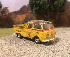 1976 Volkswagen Truck Rusty Weathered Barn Find Custom 1/64 Diecast Rust VW