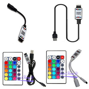 APP RGB Bluetooth(compatible) Smart Controller, 24key  remote for RGB LED Strip