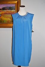 Women's 3.1 Phillip Lim for Target Blue Dress with Neck Detail NEW L