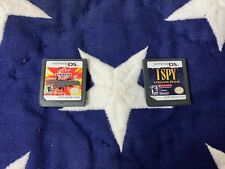 lot of 2 Nintendo DS games I spy  & Bakugan