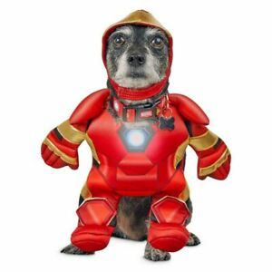 Petco Marvel Pet Fans Iron Man Illusion Suit Costume for Dog
