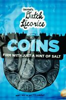Gustaf's Dutch Licorice Coins - Bag of 5.2oz With Just A Hint of Salt NON GMO