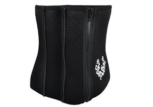 4 STEPS WAIST BELT Corset Adjustable Zip Tummy Belly Trim Slimming Slim Shaper