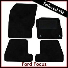 Ford Focus Mk3 2011 onwards Fully Tailored Fitted Carpet Car Floor Mats BLACK