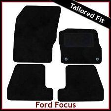 FORD Focus Mk3 2011 in poi completamente montato su misura tappetini auto moquette nera