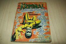 KRIMINAL MAGNUS&BUNKER281-CORNO-GAS NERVINO-NOVEMBRE 1970-DI RESA