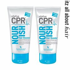 Vita 5 CPR Nourish Hair Booster leave-in Moisturiser 150ml x 2 duo pack