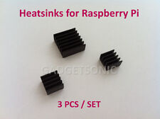 3 pcs Aluminium Self-adhesive Heat Sink Kit for Raspberry Pi 3 / 2 / B / B+