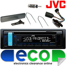 Ford Escort 96-00 JVC STEREO AUTO CD MP3 USB VOLANTE Interfaccia Kit 24fd04