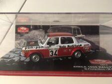 Simca 1000 Rallye 2 Monte Carlo 1973 Fiorentino Gelin /43 En Boite MC2