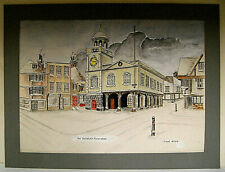 More details for ink and w/c painting, the guildhall, faversham (kent) by frank whale