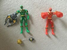 Power Rangers Mystic Force Crystal Action figures bundle red green
