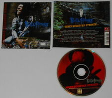 Busta Rhymes  When Disaster Strikes   U.S. promo label cd  hard-to-find