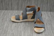 Dr. Scholl's Sheena Wedge Sandal, Women's Size 7M, Blue