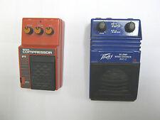 Bass Guitar pedal lot (2), Ibanez BP10 Compessor and Peavey BAC-2 Bi-Amp Chorus