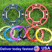 30-52T 104BCD Aluminum Narrow Wide Chainring MTB Bike Chainwheel Bolts Crankset