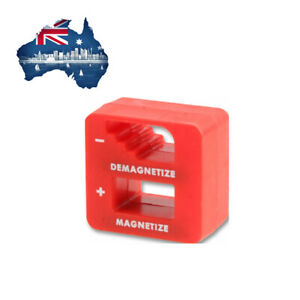 Pocket Sized Magnetizer / Demagnetizer for Small Tools Pickup and Collect Metal