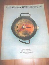 SUNDAY TIMES MAG 1965 HIROSHIMA 20TH ANNIVERSARY PAUL RUDOLPH GURDARSHAN SINGH