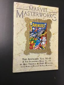 Marvel Masterworks Volume 117 The Avengers 9 Variant Hardcover Limited to 1200