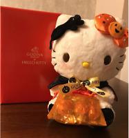 GODIVA x Hello Kitty 2017 Halloween Plush Doll Set Limited F/S Japan NEW RARE