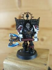 FINECAST WARHAMMER SPACE MARINE LORD EXECUTIONER PAINTED (950)