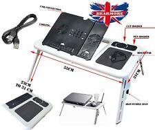 Laptop Cooling fad Portable Notebook Table Folding Buddy Desk E-Table Flexible